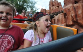 Kids Disney Thunder Mountain Serena Flickr