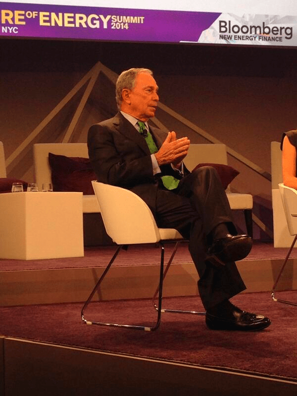 Michael Bloomberg at the Energy Summit