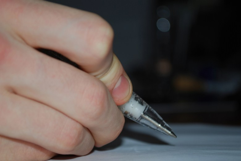 pen paper Alex France Flickr