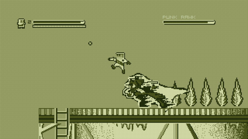 Super Rad Raygun's hero even jumps like Mega Man.