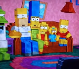 The Simpsons pulls a couch gag on Minecraft.