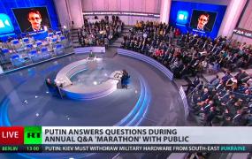 Snowden on Putin's TV show