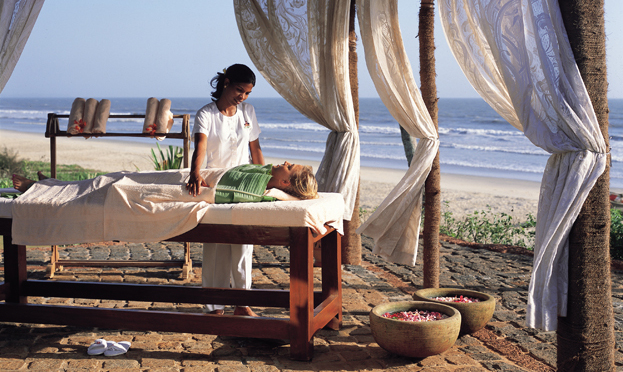 Ayurvedic spa in Goa, India