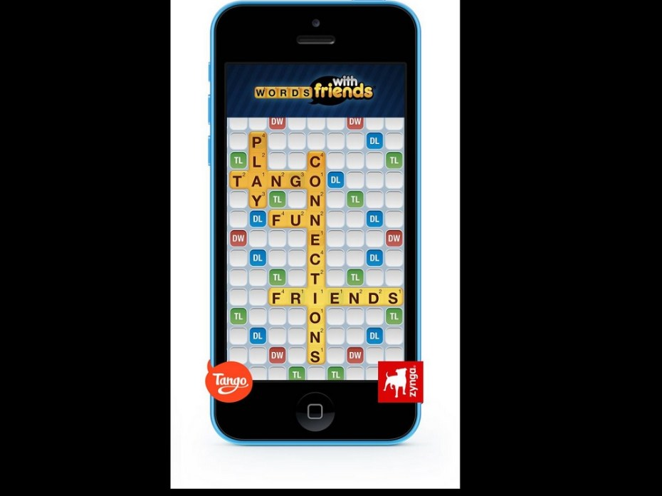 Words With Friends on Tango