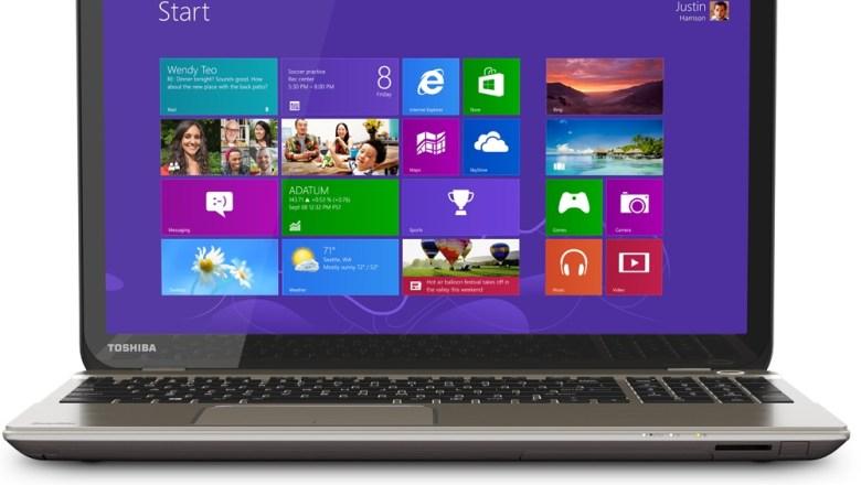 Toshiba 4K laptop