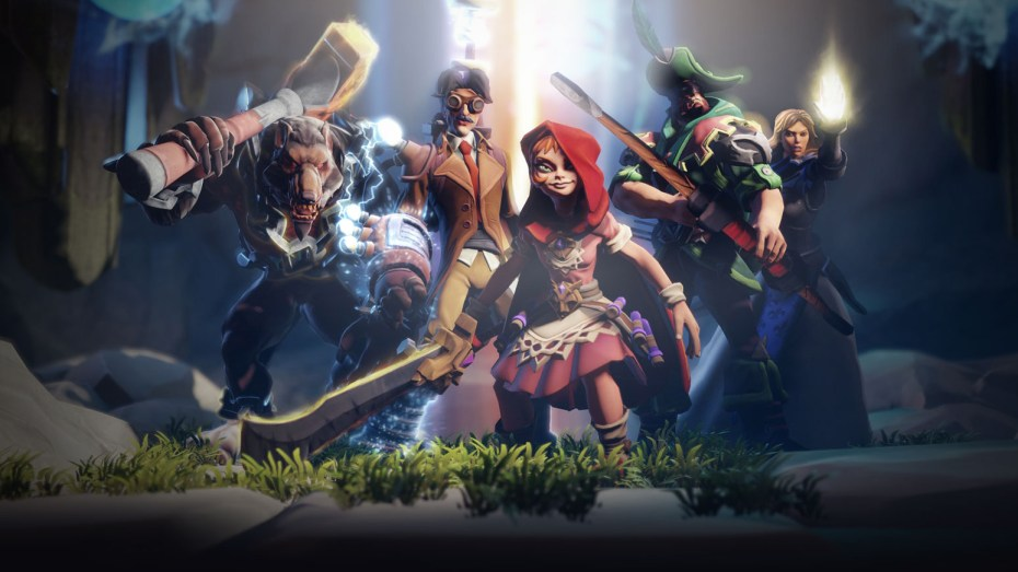 Arena of Fate features an interesting collection of heroes.