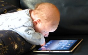 baby iPad Steve Paine Flickr