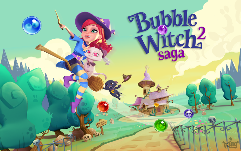 Bubble Witch Saga 2 isn't enough for King.