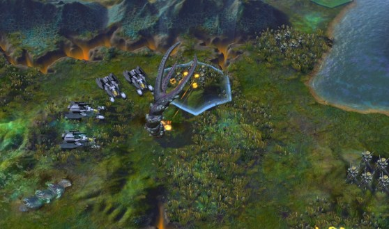 Giant worm in Civilization: Beyond Earth