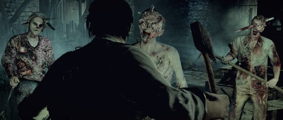 The Evil Within undead attack.