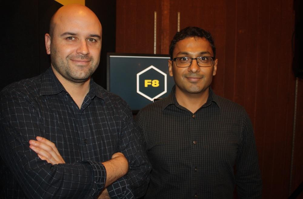 Dan Morris and Vishu Gupta of Facebook
