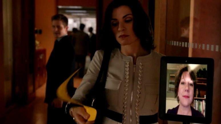 Double Robotics' Telepresence robot makes a cameo on The Good Wife