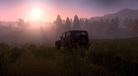 Sunsets are pretty in H1Z1
