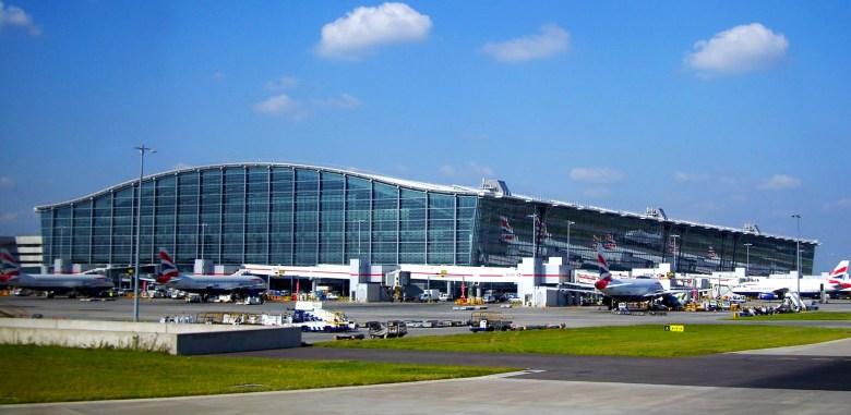 London's Heathrow Airport
