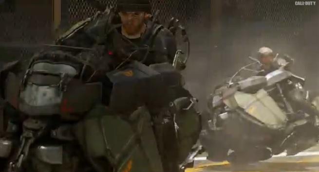 Hover bikes in Call of Duty: Advanced Warfare