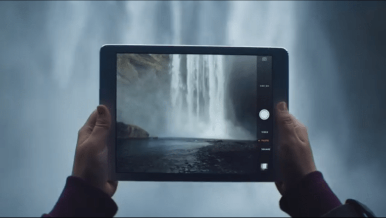 iPad Air commerical