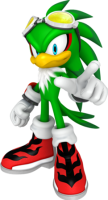 What kind of a hawk is green? Of course, I guess most hedgehogs aren't blue.