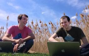 Aver Informatics founders Matt Frohliger and Kurt Brenkus