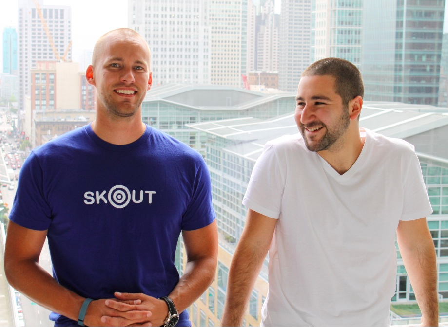 Skout's Christian Wiklund and Nixter's Francisco Sáez.