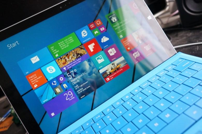 Surface Pro 3 Windows 8