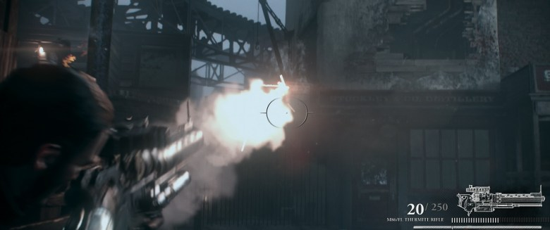 The Order: 1886 features a thermite gun.
