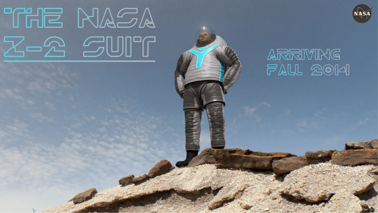 Z2 spacesuit