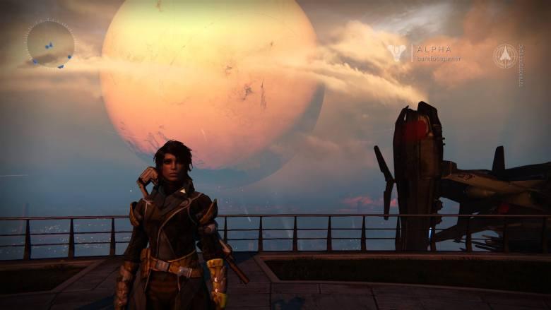 A screenshot from Destiny.