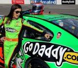 2-Stephen-Colbert-Danica-Patrick-NASCAR-Sprint-Cup-Series-2013-Richmond-1-Friday
