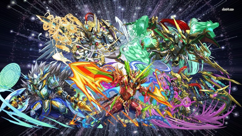 Some art from Puzzle & Dragons.