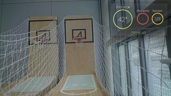 basketball glass
