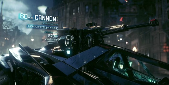 Batmobile Battle Mode