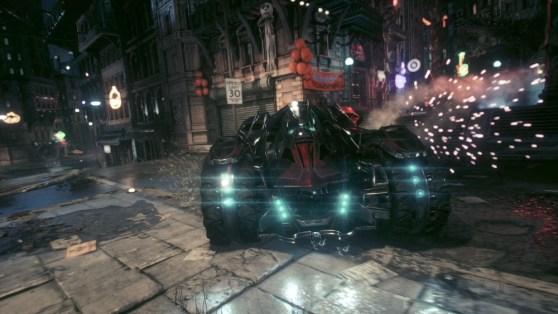 Pursuit Mode Batmobile