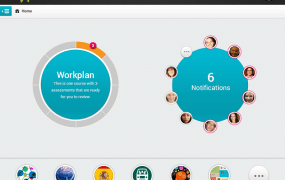 A screenshot of education startup Declara's social-driven learning network.