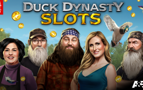 "The Roberts clan from ""Duck Dynasty,"" in social-casino game form."