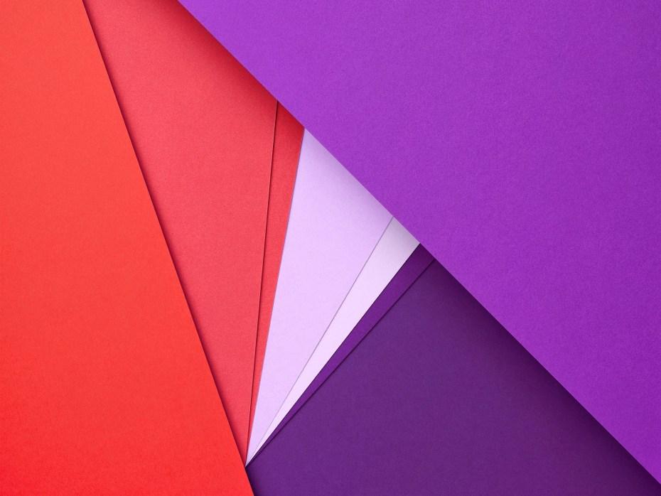 """An image promoting Google's new """"Material"""" design metaphor"""