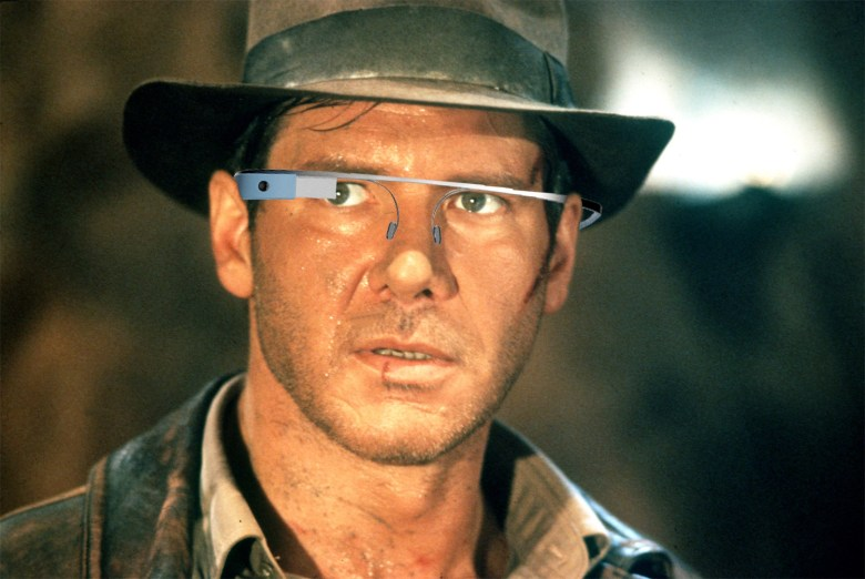 Not even Indy gets to wear Glass to the movies.