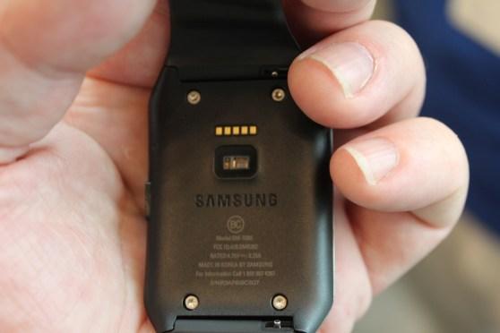 Samsung Gear Live sensor