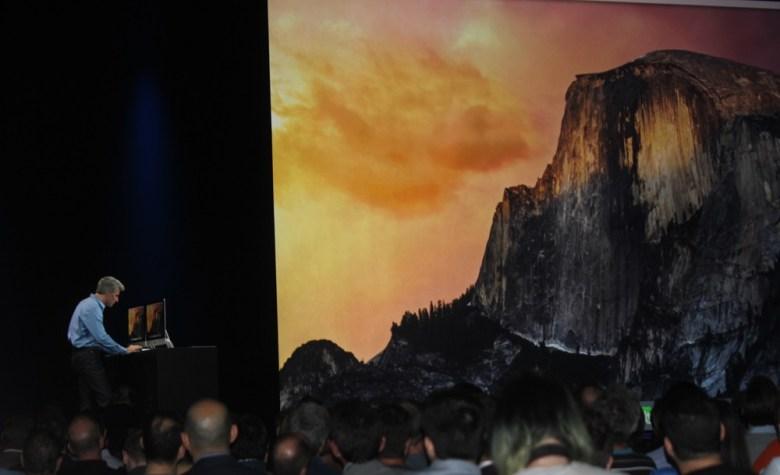 Yosemite version of Mac OS