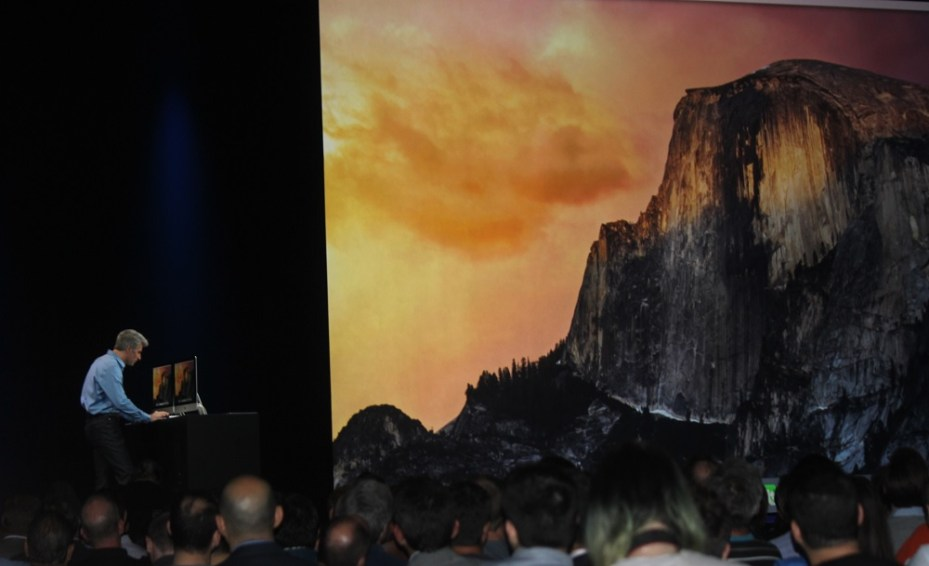 Yosemite version of Mac OS