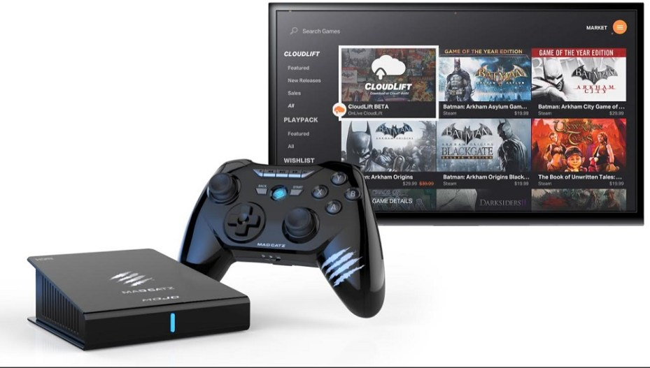 Mad Catz Mojo with OnLive