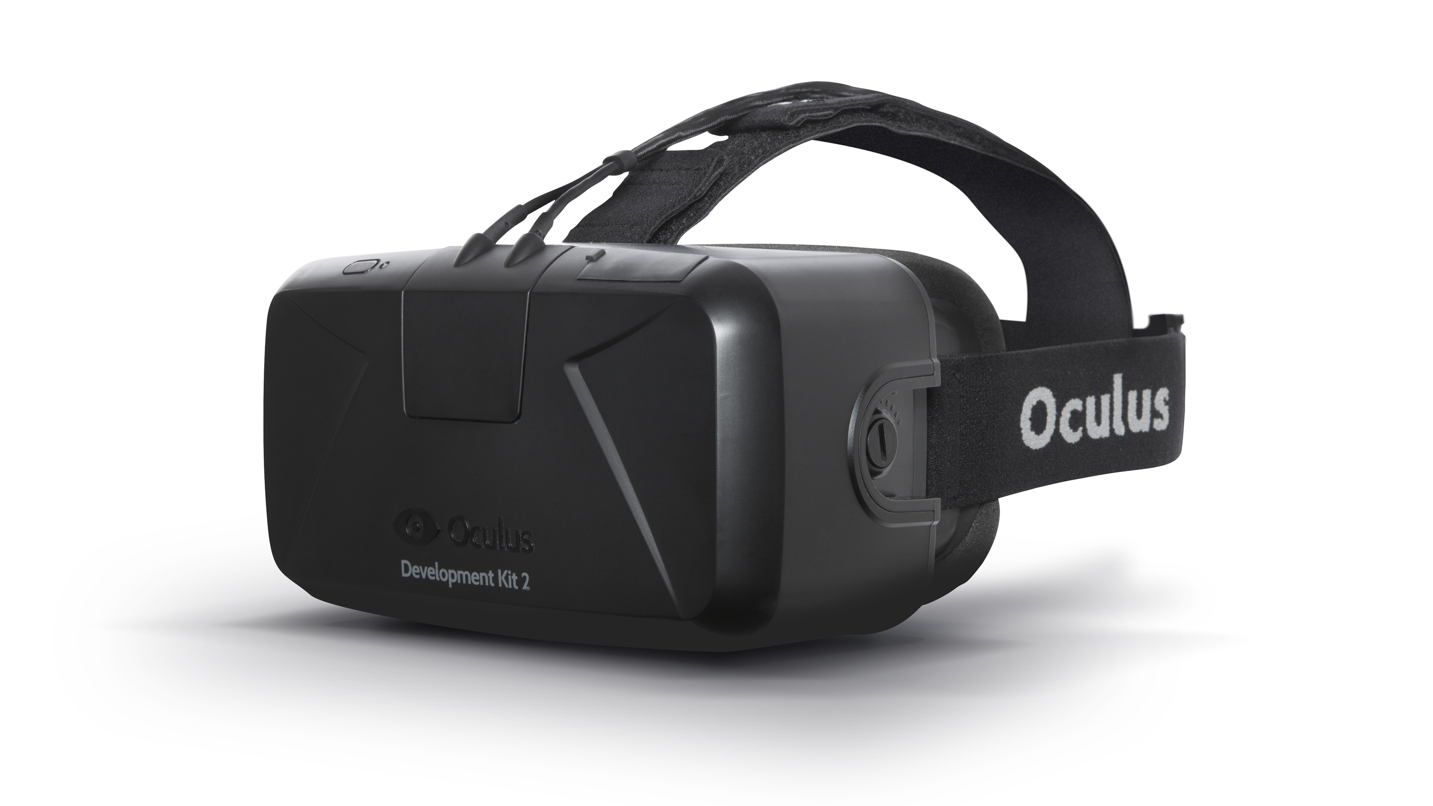 Oculus Rift's second development kit, which has many of the features consumers will end up using.