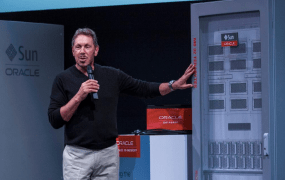 Oracle chief executive Larry Ellison.