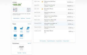 Paypal business customer design