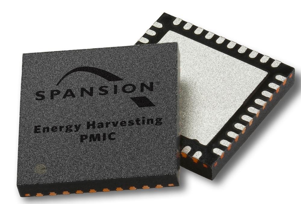Spansion energy harvesting chips