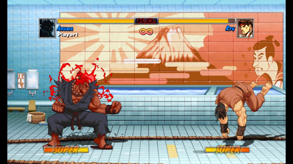 Super Street Fighter II Turbo Akuma