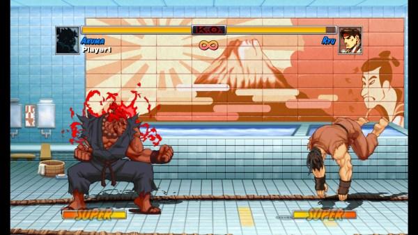 Super Street Fighter II Turbo Akuma