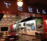 A Tesla store.
