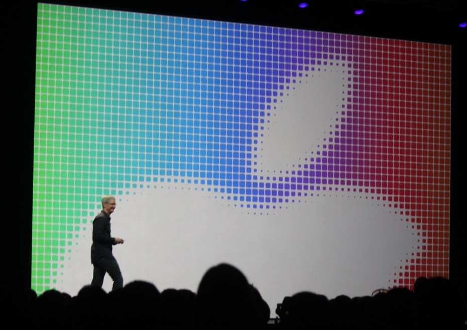 Apple CEO Tim Cook at WWDC 2014