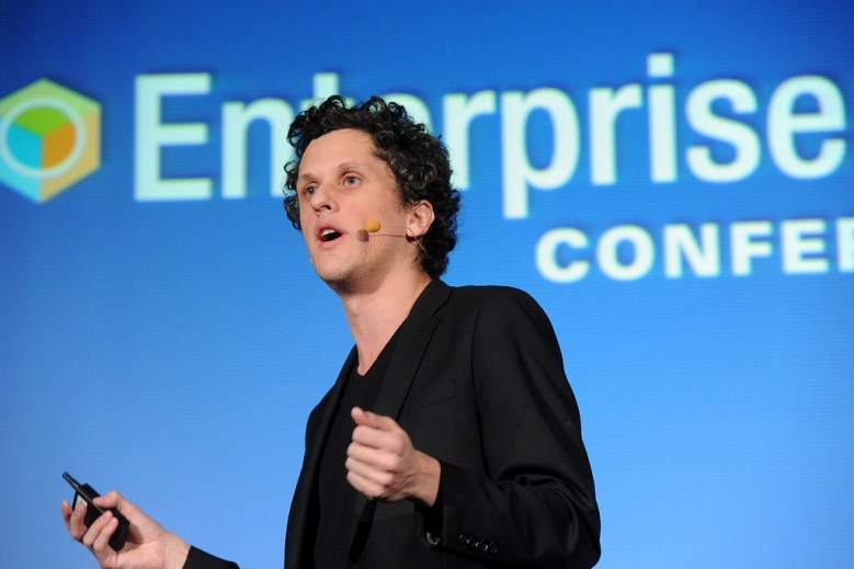 Box chief executive Aaron Levie.