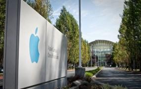 Apple campus in Cupertino, Calif.